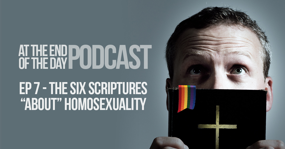 Seven biblical passages homosexuality and christianity